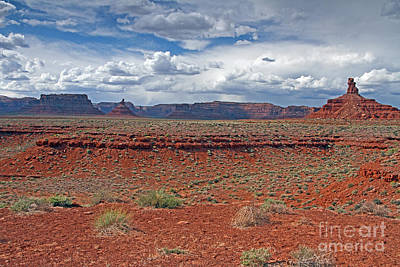 Photograph - Valley Of The Gods 2 by Butch Lombardi