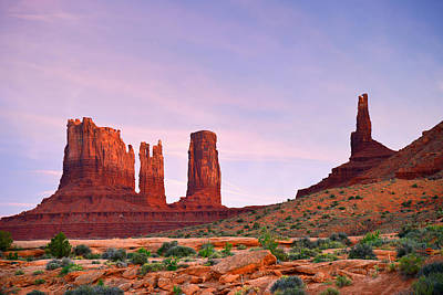 Valley Of The Gods - A Oasis For The Soul Art Print by Christine Till