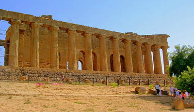 Photograph - Valley Of The Temples Agrigento by Caroline Stella
