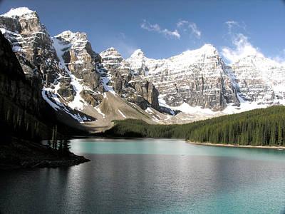 Photograph - Valley Of The Ten Peaks by Robert Lozen
