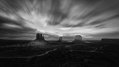 Photograph - Valley Of Time by Tassanee Angiolillo
