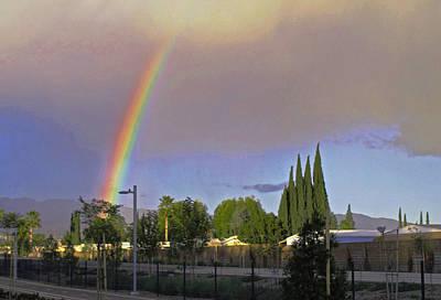 Valley Rainbow 3 Art Print