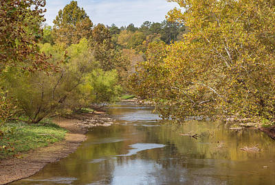 Photograph - Valley River In Murphy North Carolina by John M Bailey