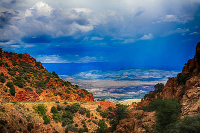 Storm Photograph - Valley Storm by Fred Larson