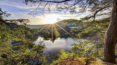 Litchfield Hills Photograph - Valley Sunrise by Bill Wakeley