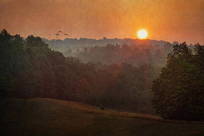Photograph - Valley Sunrise by Dale Kincaid