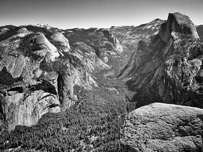 Photograph - Valley View At Glacier Point by David Beebe