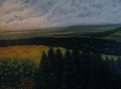 Painting - Valley View by Dan Wagner