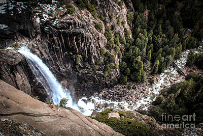 Anchor Down Royalty Free Images - Valley Waterfall Royalty-Free Image by Jillian Warner