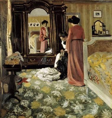 Vallotton, F�lix 1865-1925. Interior Art Print