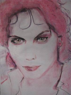 Ville Valo Pastel - Valo's Gooseberry Eyes by Agata Suchocka-Wachowska