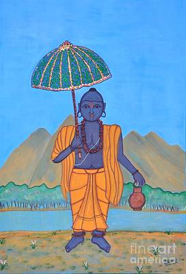 Painting - Vamanamurti by Pratyasha Nithin