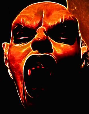 Nosferatu Digital Art - Vamp II by Devalyn Marshall
