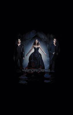 Supernatural Digital Art - Vampire Diaries - Bring It On by Brand A