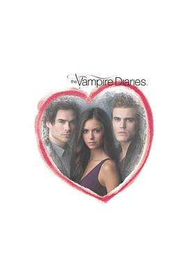 Supernatural Digital Art - Vampire Diaries - Girls Choice by Brand A