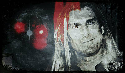 Digital Art - Vampire Fabio by Absinthe Art By Michelle LeAnn Scott