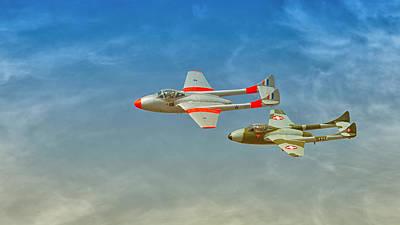 Vampire Jets Art Print by Johan Combrink