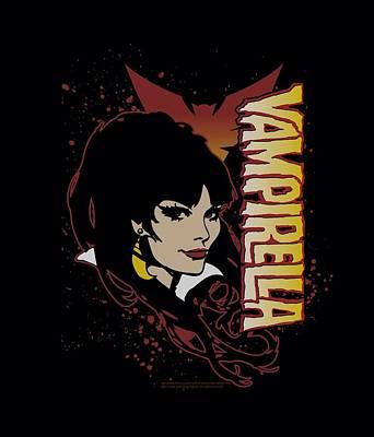 Vampirella Digital Art - Vampirella - Devilish Grin by Brand A