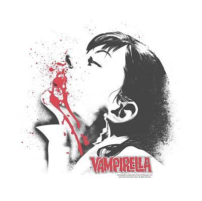 Vampirella Digital Art - Vampirella - Let It Bleed by Brand A