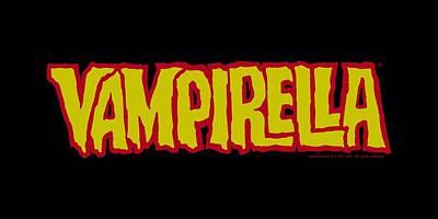 Vampirella Digital Art - Vampirella - Logo by Brand A