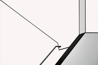 Minimalism Photograph - Van Abbe Lines by Jan Niezen