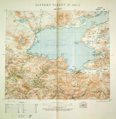 Cartography Photograph - Van Bitlis by British Library