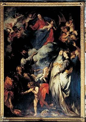 Van Dyck Anton O Antoon, Madonna Art Print by Everett