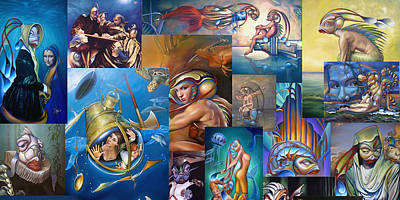 Mariner Painting - Van Geaudeux Mural 1 by Patrick Anthony Pierson