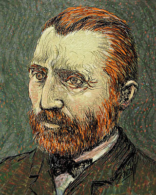 Digital Art - Van Gogh 3 by Stan Kwong