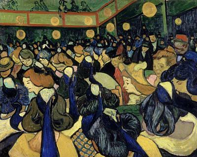 Dance Halls Painting - Van Gogh Dance Hall, 1888 by Granger