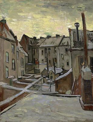 Painting - Van Gogh Houses, C1885 by Granger