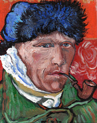 Painting - Van Gogh by Tom Roderick
