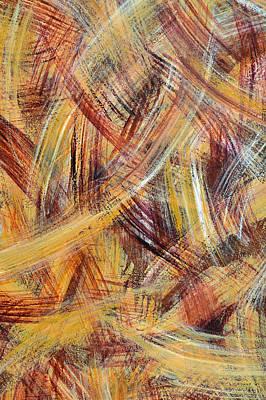 Painting - Van Gogh Wheat Field 2 by David Clode