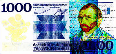 Creative Charisma - Van Goghs 1000 Gulden by Jose A Gonzalez Jr