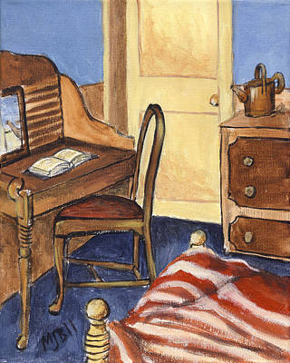 Van Gogh's Bedroom Original by Michael Beckett