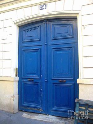Van Gogh's Blue Door Art Print