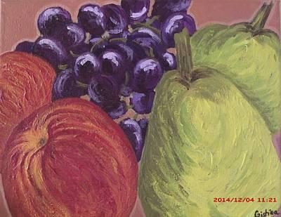 Inspired By Van Gogh Wall Art - Painting - Van Gogh's Fruits by Cristina Como