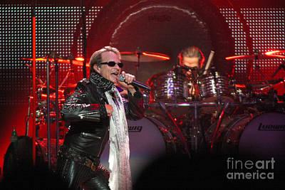 David Lee Roth Photograph - Van Halen-7218 by Gary Gingrich Galleries