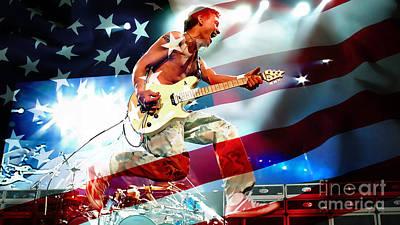 Van Halen Art Print by Marvin Blaine