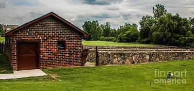 Photograph - Van Hoosen Calf Barn by Grace Grogan