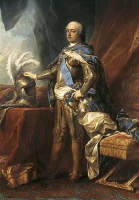 Louis Xv Photograph - Van Loo, Jean Baptiste 1684-1745. Louis by Everett