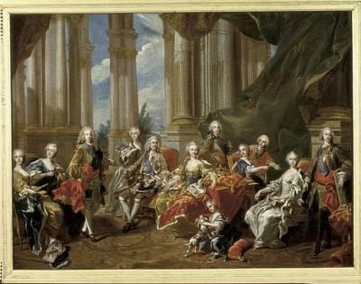 Van Loo, Louis Michel 1707-1771. Philip Art Print