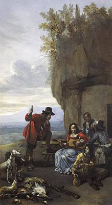 Van Staverden, Jacob 17th C.. Farmers Art Print by Everett