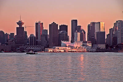 Vancouver Bc Art Print by Brian Chase