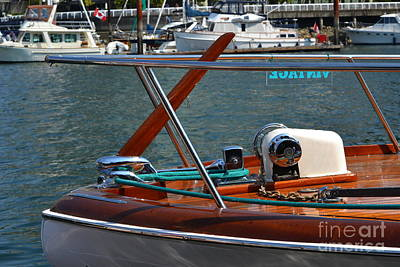 Photograph - Vancouver Bc Classic Boats by Dean Ferreira