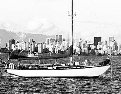 Photograph - Vancouver Bc Skyline by Robert  Rodvik