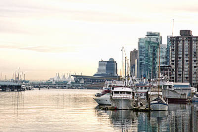 Photograph - Vancouver Boats  by Joanna Madloch
