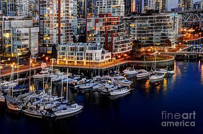 Vancouver British Columbia 10 Art Print by Bob Christopher