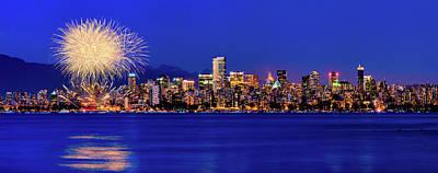 Photograph - Vancouver Celebration Of Light by Alexis Birkill