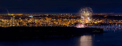 Competition Photograph - Vancouver Celebration Of Light Fireworks 2013 - Day 3 by Alexis Birkill